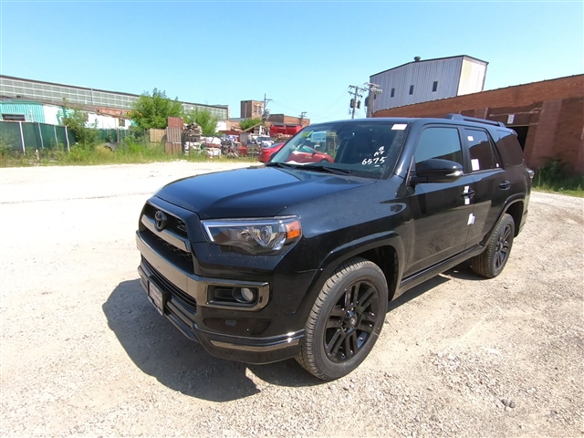 New 2019 Toyota 4Runner trim AWD AWD Limited Night Shade 4dr SUV