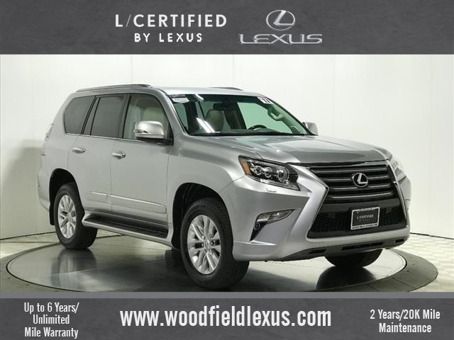 Certified Pre-Owned 2017 Lexus GX 460 trim AWD AWD 4dr SUV
